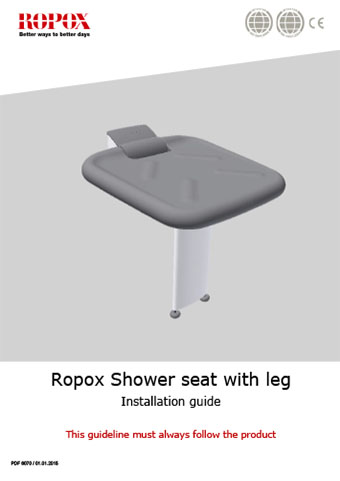 Ropox Shower seat with leg