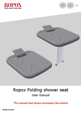 Ropox Folding shower seat