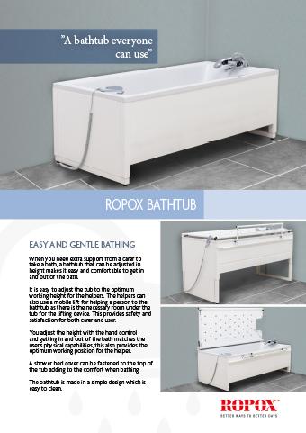 Ropox bathtub