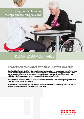 Data leaflet Ropox Ergo Multi Table
