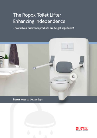 Folder Ropox Toilet Lifter Enhancing Independence