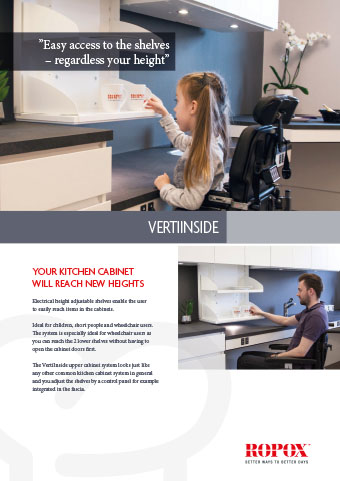 Data leaflet Ropox Kitchen Uppercabinets VertiInside