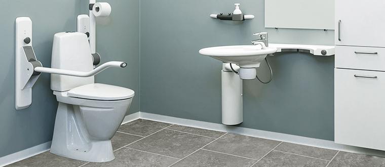SwingLine washbasin / håndvask example