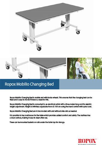 Ropox Mobilio Changing Bed
