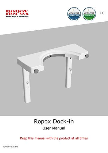 Ropox user manual - Dock-in for Swing Washbasin