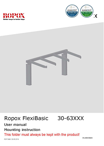 Ropox user & mounting manual - FlexiBasic