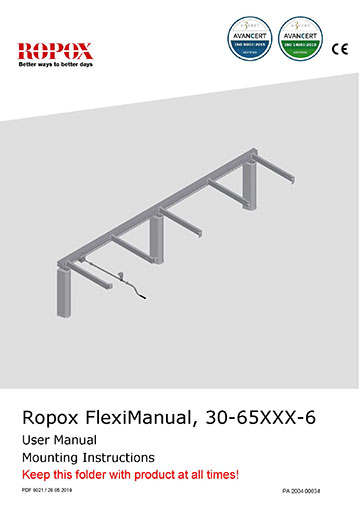 Ropox user and mounting manual - FlexiManual