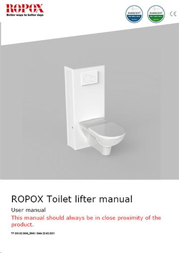 Ropox user manual - Toilet Lifter Manual